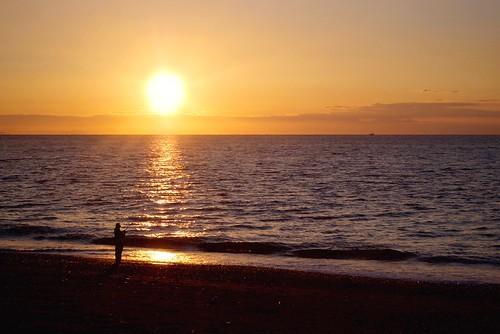 sunrise pentax ist fishing sakawa