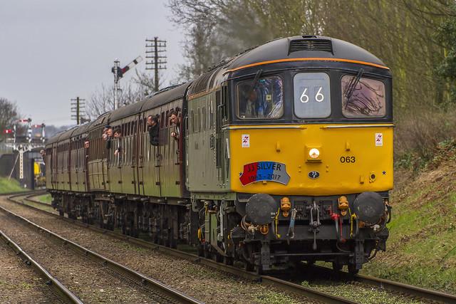Class 33 No. 33063 'R.J. Mitchell'