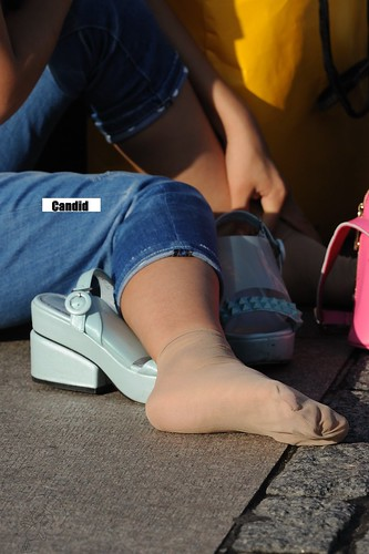 Candid Feet From China 328  If You Like Asians Chinese -7564