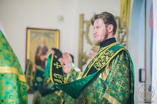 Литургия в Воскресенском соборе 340