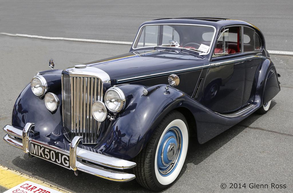 Jaguar MKV-8550 | 1950 Jaguar Mark V for sale at Charlotte ...