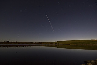 ISS over Llyn Bran | by A Crowe Photography