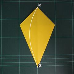 การพับฐานปลา (Oigami Fish Base) 003