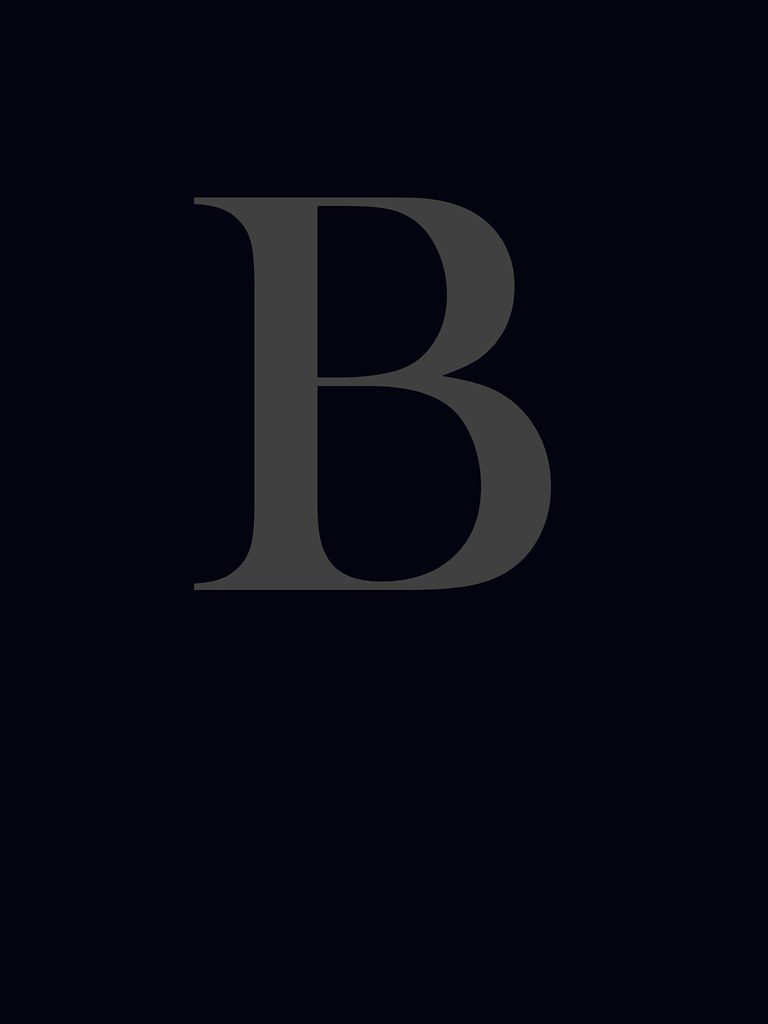 Letter B Wallpaper   An alphabetic character from rendered ...