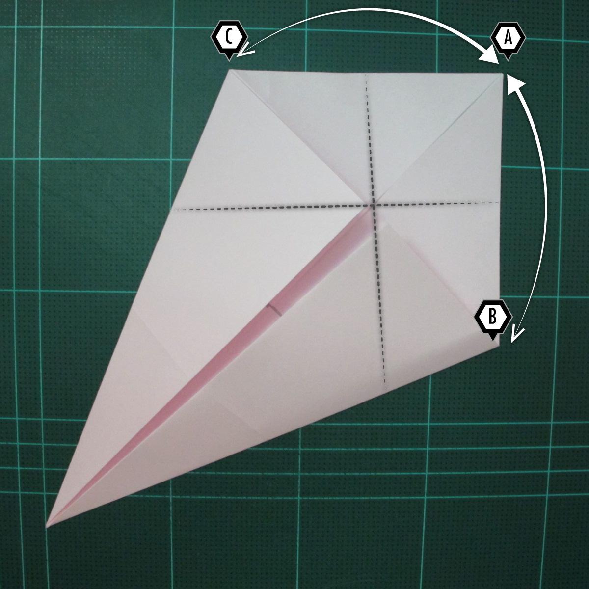 การพับกระดาษเป็นไดโนเสาร์ทีเร็กซ์ (Origami Tyrannosaurus Rex) 004