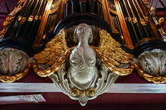 Amsterdam - Ons' Lieve Heer op Solder 14 - Orgel detail