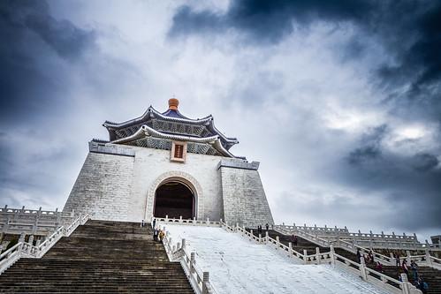 中正紀念堂 Chiang Kai-shek Memorial Hall / 台灣台北 Taipei, Taiwan / SML.20140213.6D.30749.P1   by See-ming Lee (SML)