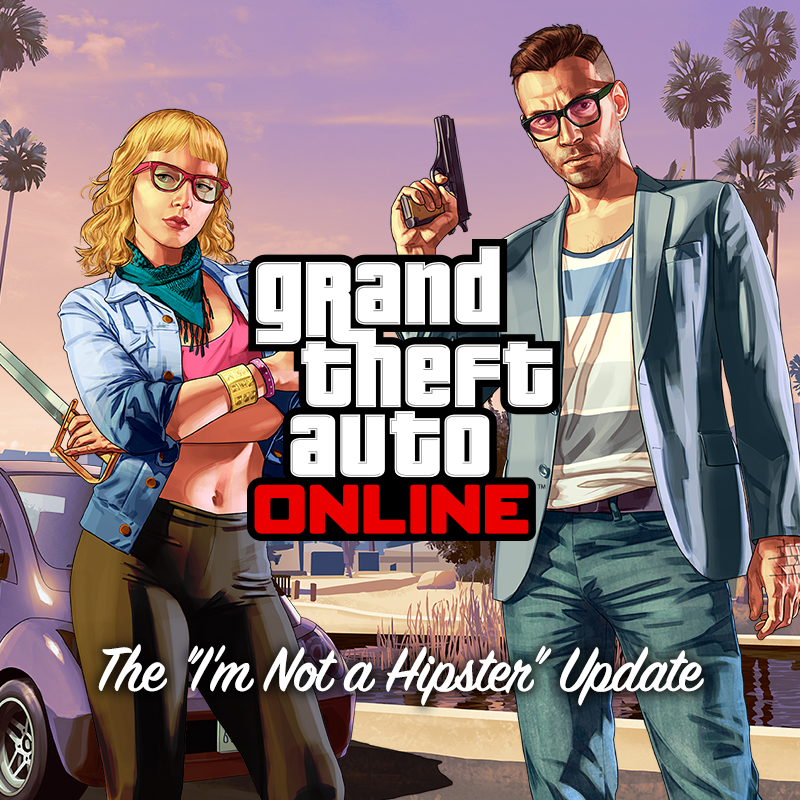 Grand Theft Auto Online: I'm Not a Hipster Update for PS3