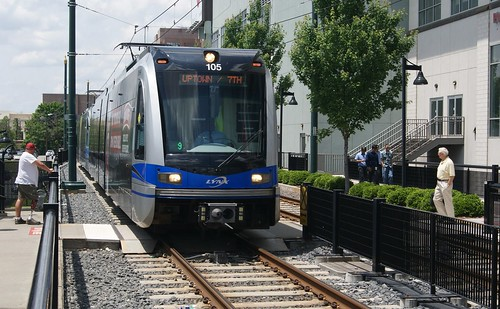CATS in Downtown Charlotte | Pre-CATS light rail. Now this ... |Cats Charlotte Light Rail