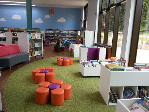 Under 5's Area in the New Exeter Library 1st June 2014 | by Devon Libraries