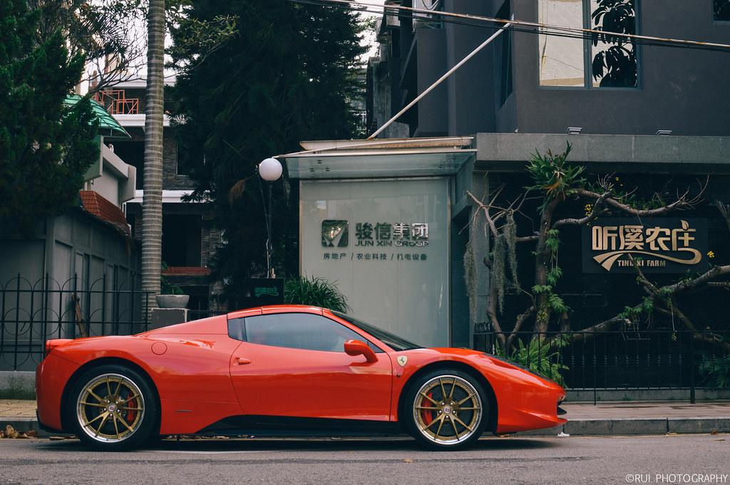 Ferrari 458 Spider On Hre Wheels Rui Photography Flickr