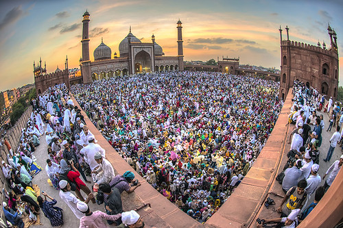 life new sunset india lens photography photo nikon shot angle photos shots delhi group wide eid mosque fisheye stop photographs photograph photowalk shoots nikkor friday 16mm ramadan masjid nimit d800 ramazan jama nigam apf uwa juma jumma alvida swaad