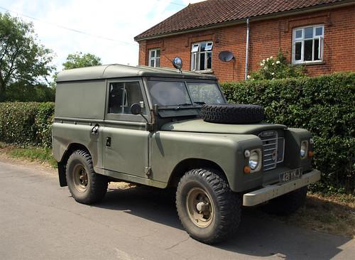 """1963 Land Rover 88"""" diesel   by Spottedlaurel"""
