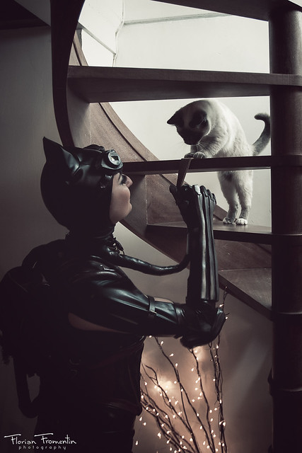 Cosplay CATWOMAN (Injustice)