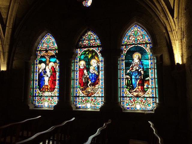 Chapelle de l'abbatiale St Sauveur Figeac