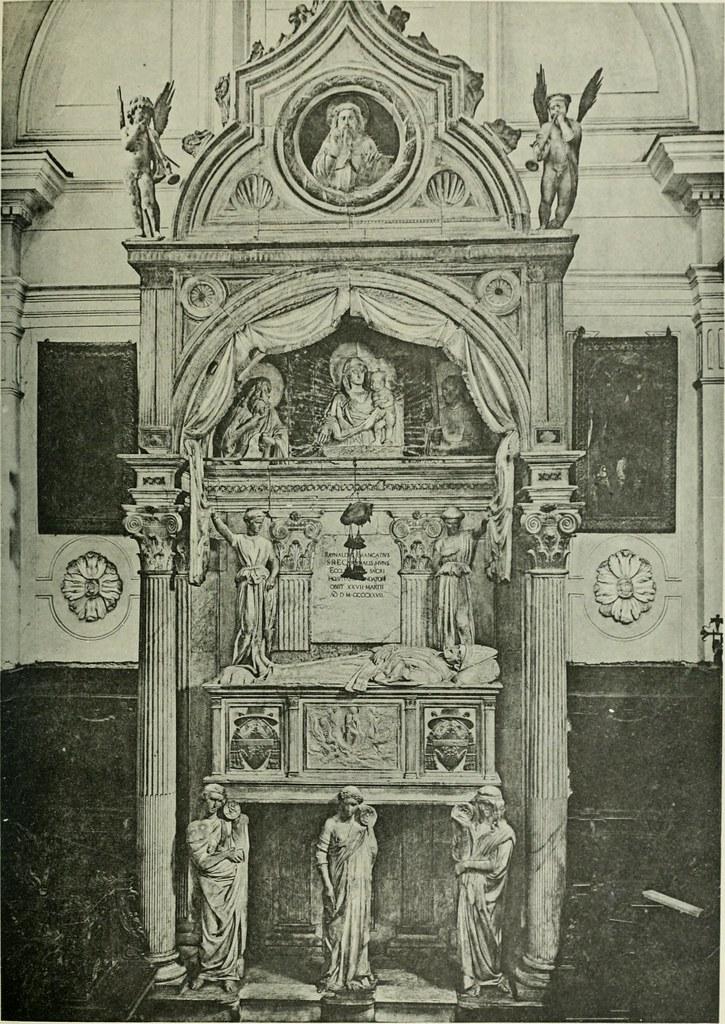 """Image from page 140 of """"Geschichte des florentinischen Grabmals von den ältesten Zeiten bis Michelangelo"""" (1904)"""