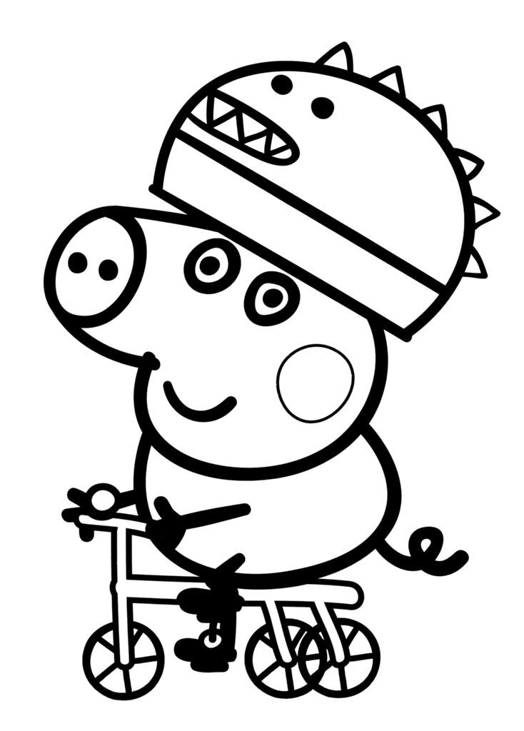 All Sizes Desenhos Para Colorir Da Peppa Pig George Desenhos Do