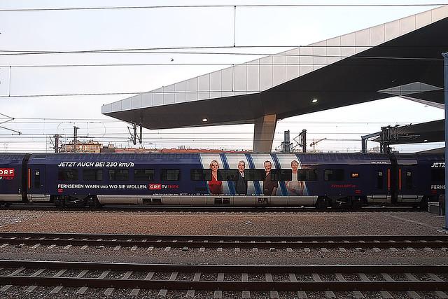 A ÖBB ORF Railjet Wien 06-12-2016
