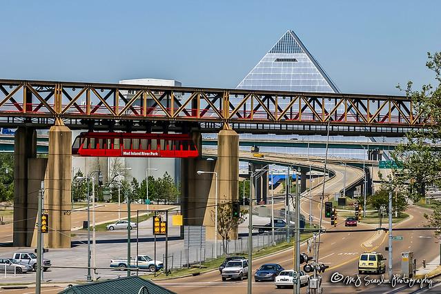 Mud Island Monorail | Memphis, Tennessee
