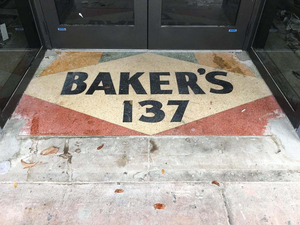 Bakers Terrazzo Floor 1925 Building Restoration Downtown M