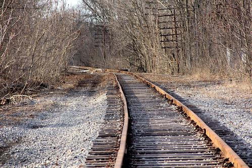 erierailroad erielackawanna abandonedrailroads tracks railroadtracks nilesohio rails rustyrails