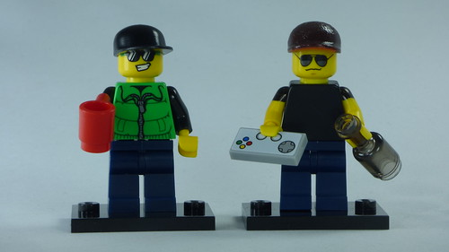 Brick Yourself Bespoke Custom Lego Figure Cheers Bro! | by BrickManDan
