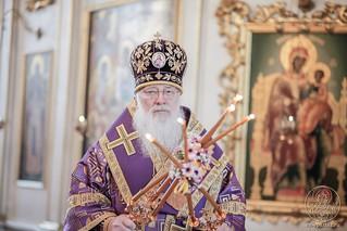 Литургия в Покровском соборе 200