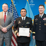 Fri, 04/07/2017 - 14:29 - On April 7, 2017, the William J. Perry Center for Hemispheric Defense Studies hosted a graduation for its Defense Policy and Complex Threats program in Lincoln Hall at Fort McNair in Washington, DC.