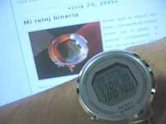 Mi reloj binario