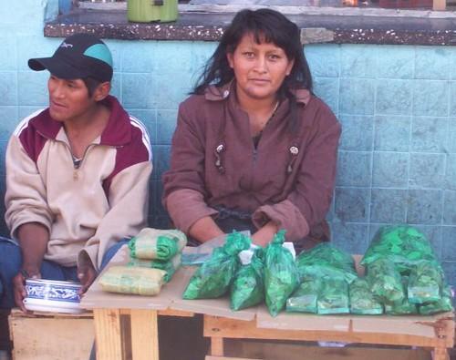 La vendedora de coca