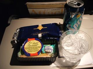 US Airways In-flight Snacks