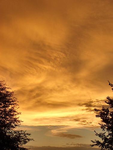 sunset red sky orange cloud nature beautiful catchycolors outside evening dusk skyiscreative
