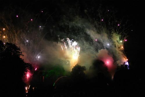 Katie Melua Concert Fireworks - 1