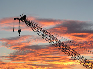 Sunset Crane | by janinewhite