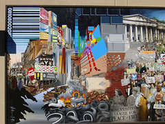 DeAnza Community College Mural Part 1   by Aaron Gustafson