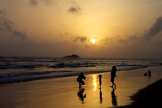 sunset - beruwela