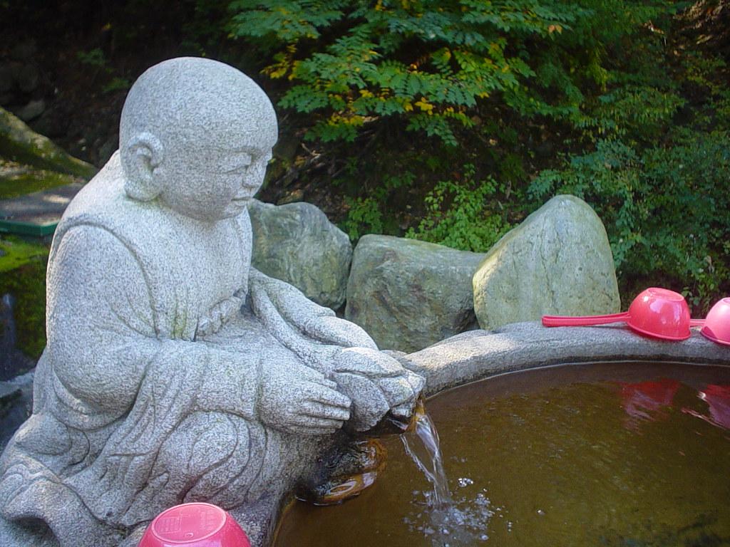 Buddha Fountain | A place to wash off in at Gwaneum temple, … | erin  garnhum | Flickr