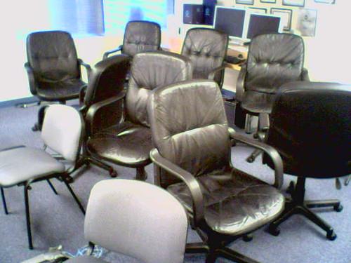 Office Chair Jumble