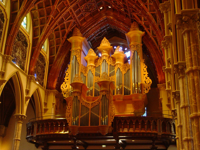 Chicago - Holy Name Cathedral - Organ