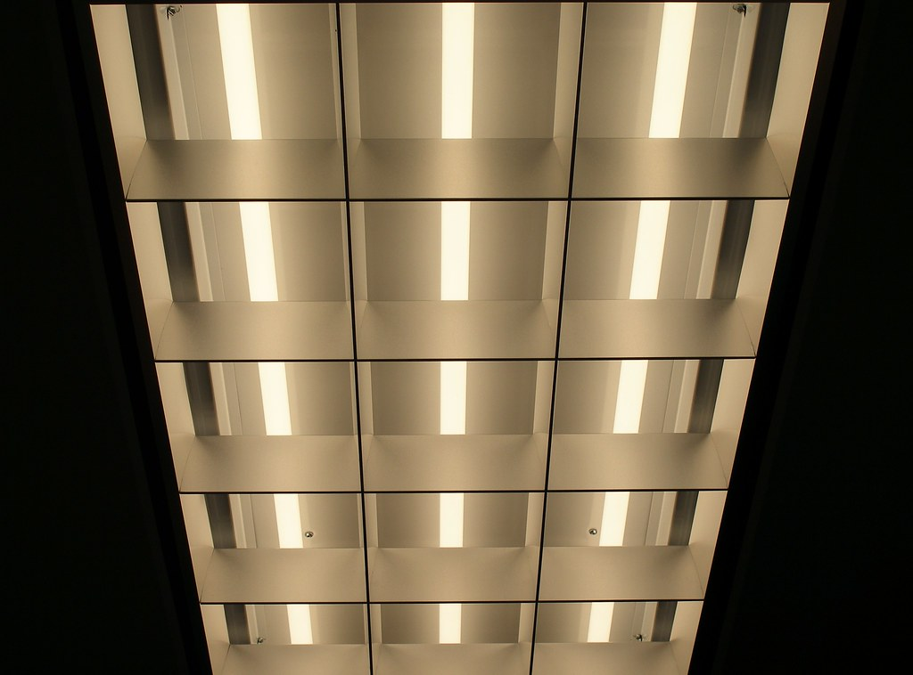 Tube Lights in Libraries