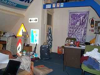 My old room...
