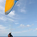 Image: Paraglider at Stanwell Tops