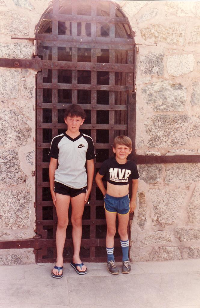 boys at the jail   We like short shorts ...   Amy Goodman ...