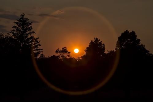 sunset sun sol newjersey nj clark flare sunring scotchplains oakridgepark