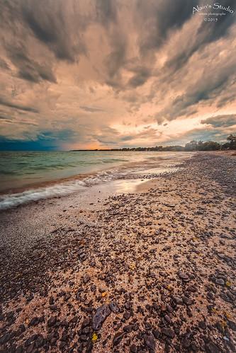 sky beach water landscape coast sand outdoor shore wellingtonrotarybeach princeedwardon