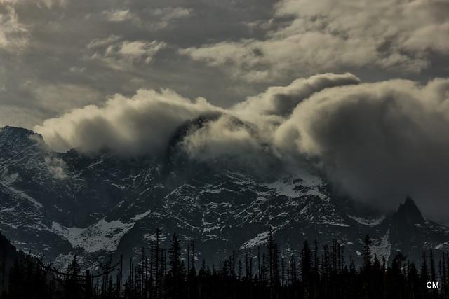 Tatras i núvols.