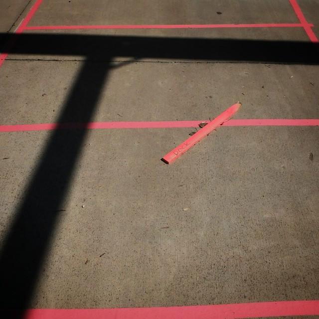 a semi-accidental arrangement of lines