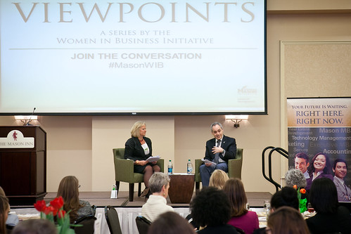 2014 Women in Business VIEWPOINTS Series: President Angel Cabrera