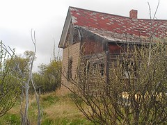 Another Abandoned House - Orion, Alberta