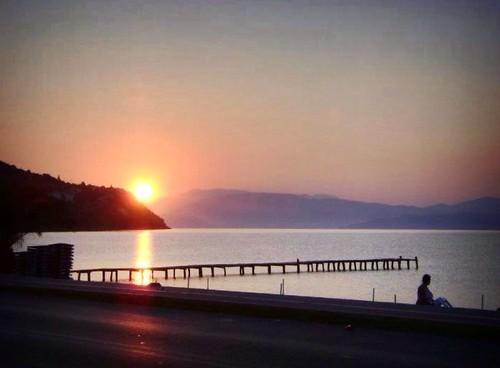 sea sun love beach sunrise island happy seaside happiness sunny greece grecia ipsos corfù ipsosbeach